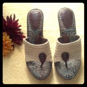 Born Hand Crafted Footware. Wedge Shoes